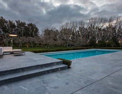 Latest Pool Design in Tile & Stone