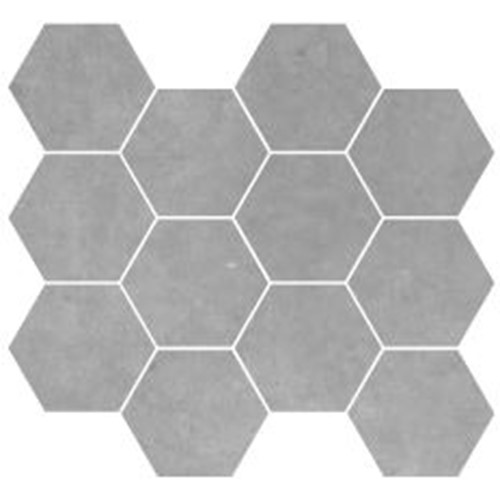 PARADIGM LIGHT GREY HEXAGON MOSAIC MATT 254X317