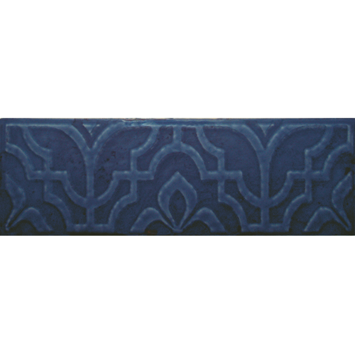 STUCCI RELIEVE BLUE NAVY GLOSS 75X230