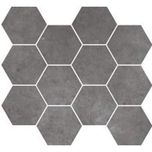 PARADIGM GREY HEXAGON MOSAIC MATT 254X317