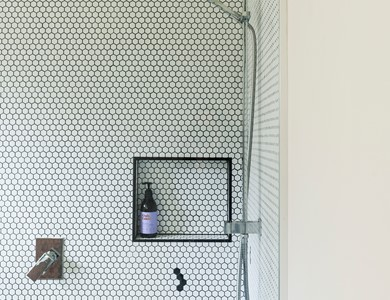 What tiles are best for shower walls?