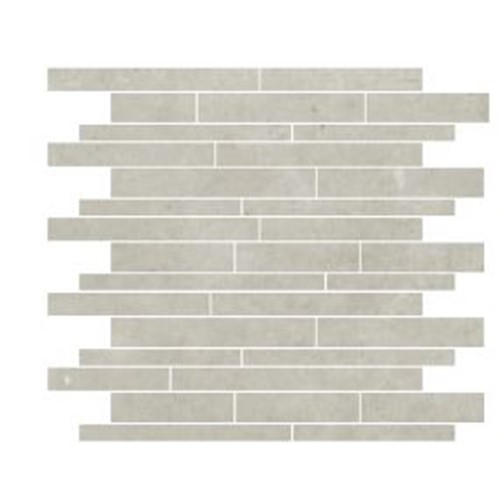 PARADIGM WHITE STRIP MOSAIC MATT 300X300