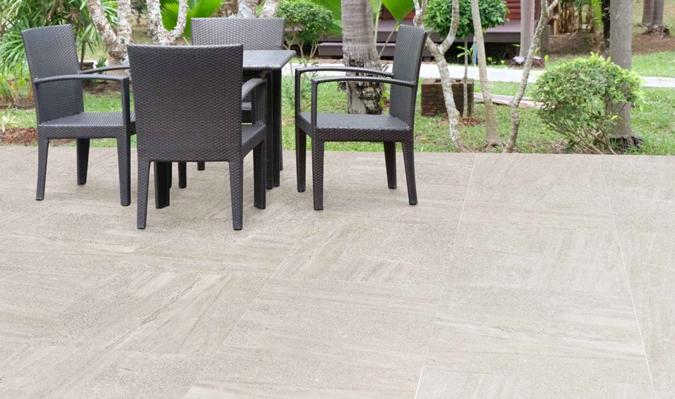 What type of tiles are best for outdoors?