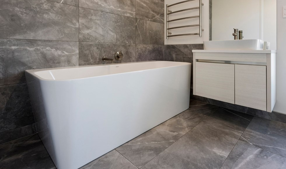 Where do you start when renovating a bathroom?
