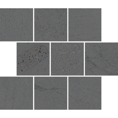 BLUESTONE GREY OFFSET MOSAIC GRIP 300X300