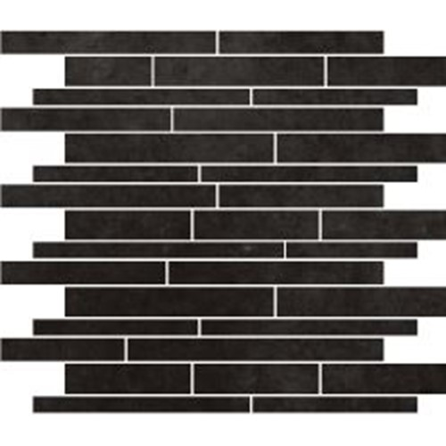 PARADIGM GRAPHITE STRIP MOSAIC MATT 300X300