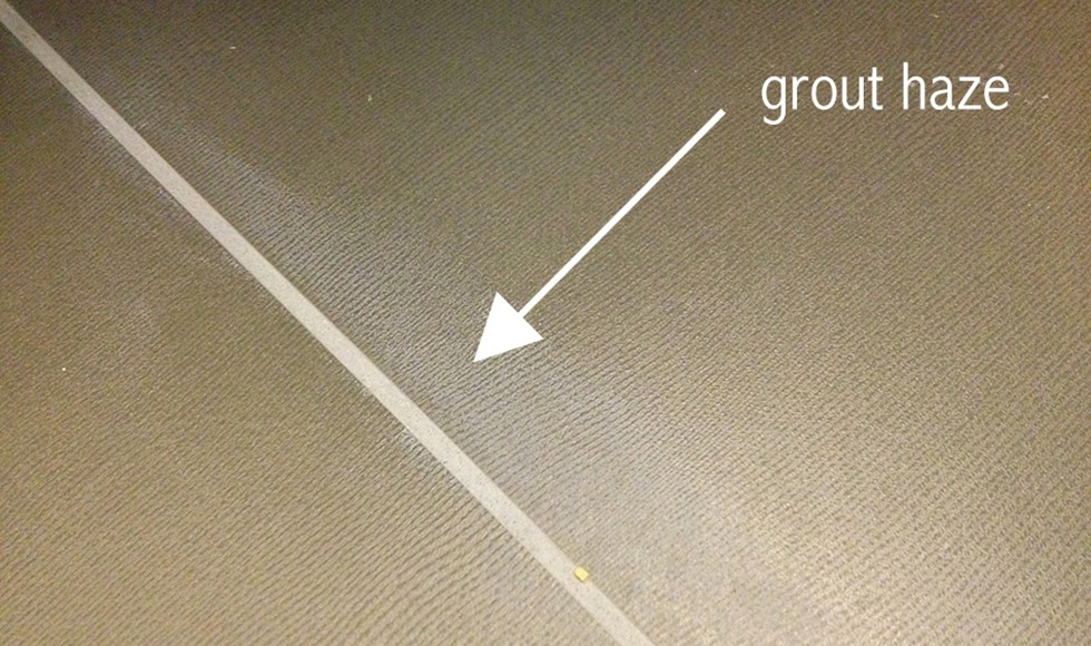 Grout Haze | Tile Warehouse