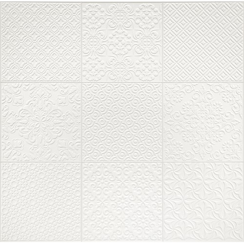 SINTRA STUCCO WHITE MATT 600X600