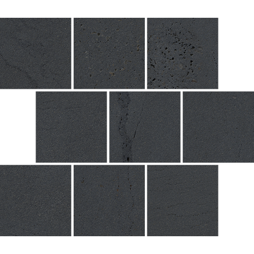 BLUESTONE CHARCOAL OFFSET MOSAIC GRIP 300X300