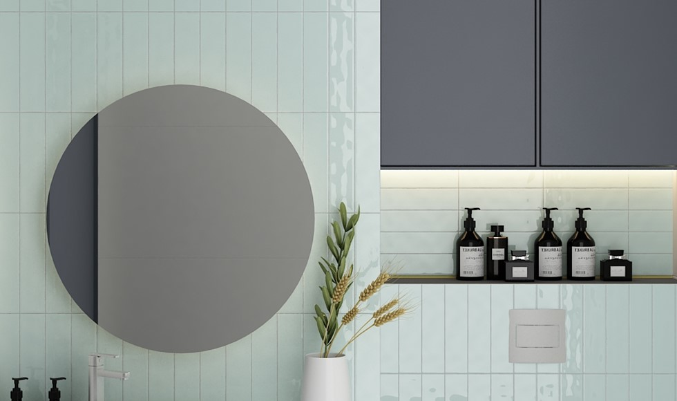What Size Tile Should I Use In A Small, Small Bathroom Tiles
