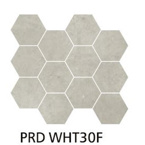PARADIGM WHITE HEXAGON MOSAIC MATT 254X317