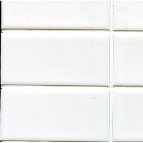 METRO WHITE 45X195 STACKED MOSAIC GLOSS 285X393